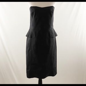 White House Black Market Peplum dress, size 14
